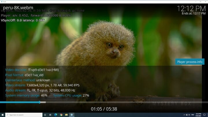 Beelink SEi Kodi Windows 10 8k 60fps