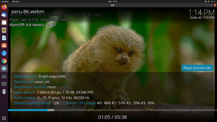 Beelink SEi Kodi ubuntu 8k 60fps