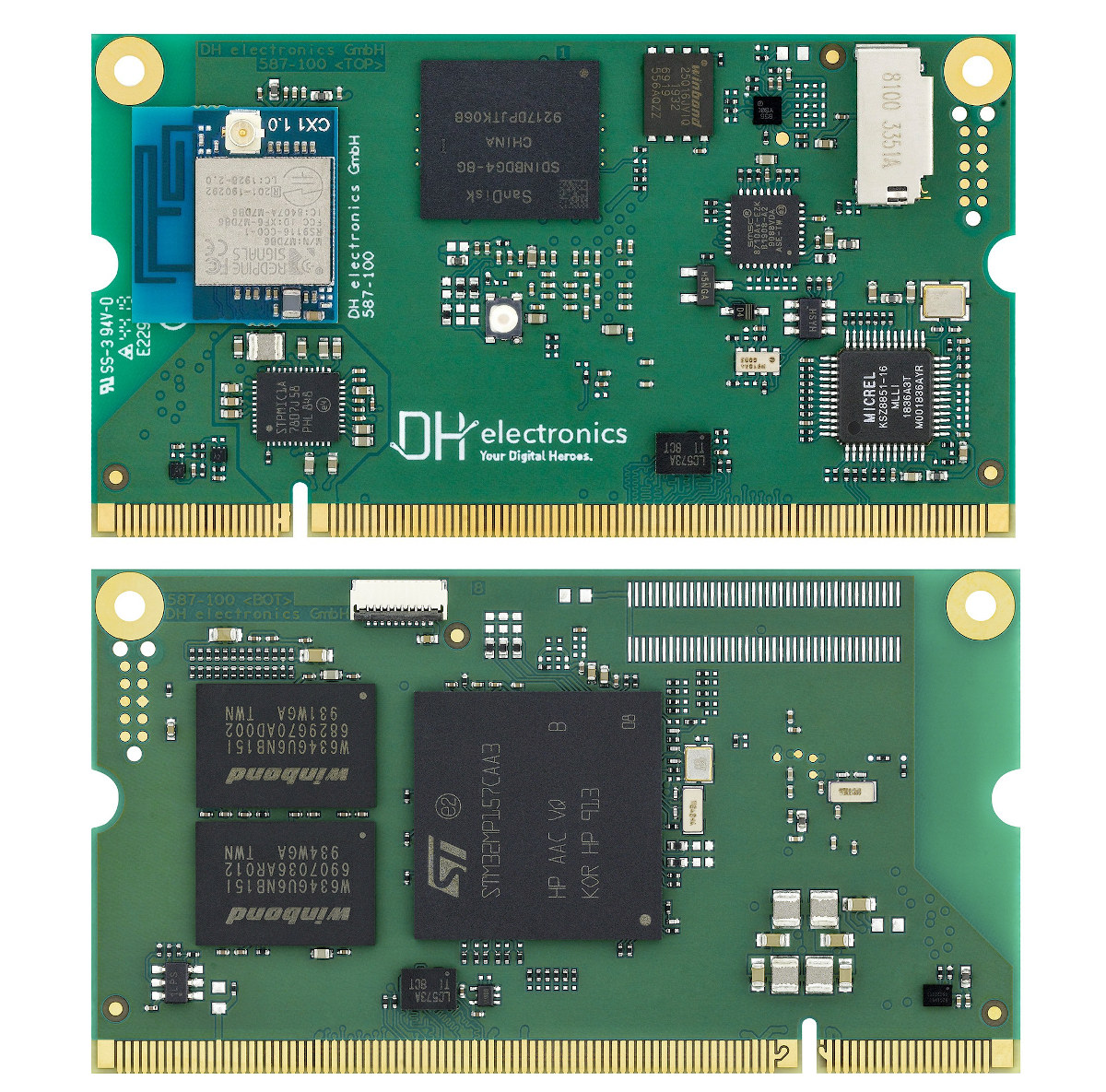 DHCOM STM32MP1 System-on-Module