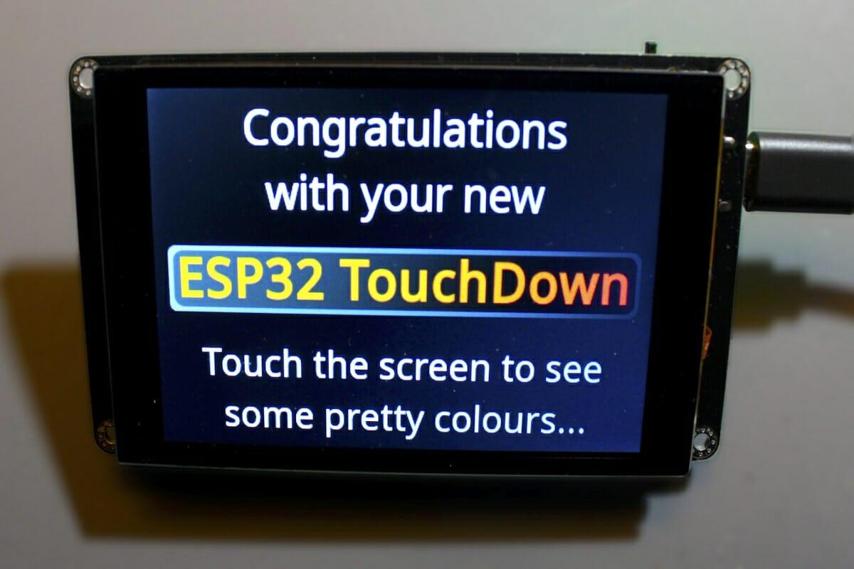 ESP32 TouchDown Open-Source Stream Deck Alternative