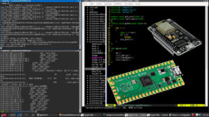 Fuzix Raspberry Pi Pico ESP8266