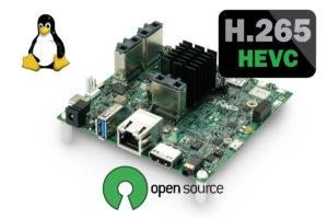 H.265 Linux open-source driver NXP iMX 8M Quad