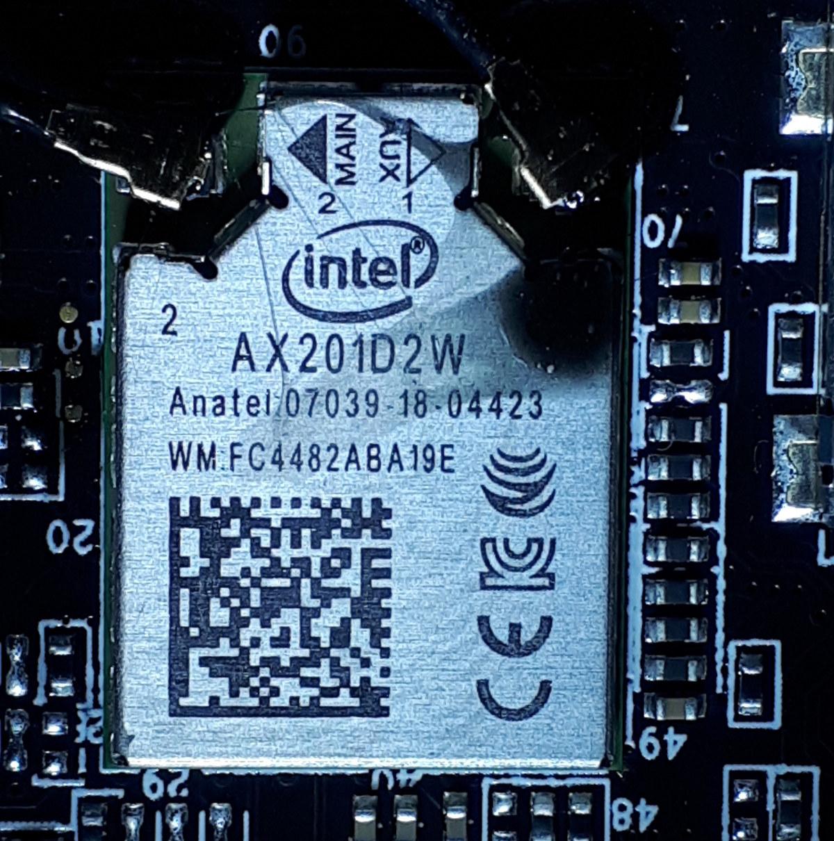 Intel AX201D2W
