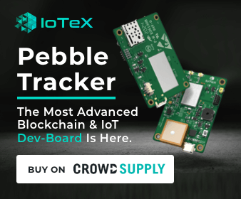 Pebble Tracker with IoTex