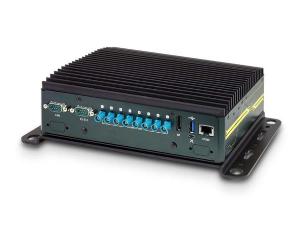 Jetson AGX Xavier based Edge AI Platform supports 8 GMSL automotive cameras and 10Gbps Ethernet