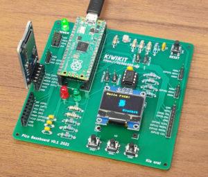 Kiwikit Raspberry Pi Pico Baseboard