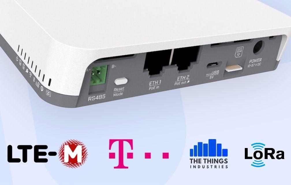 LoRaWAN LTE-M IoT Gateway