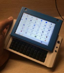 MutantC V3 Raspberry Pi UMPC