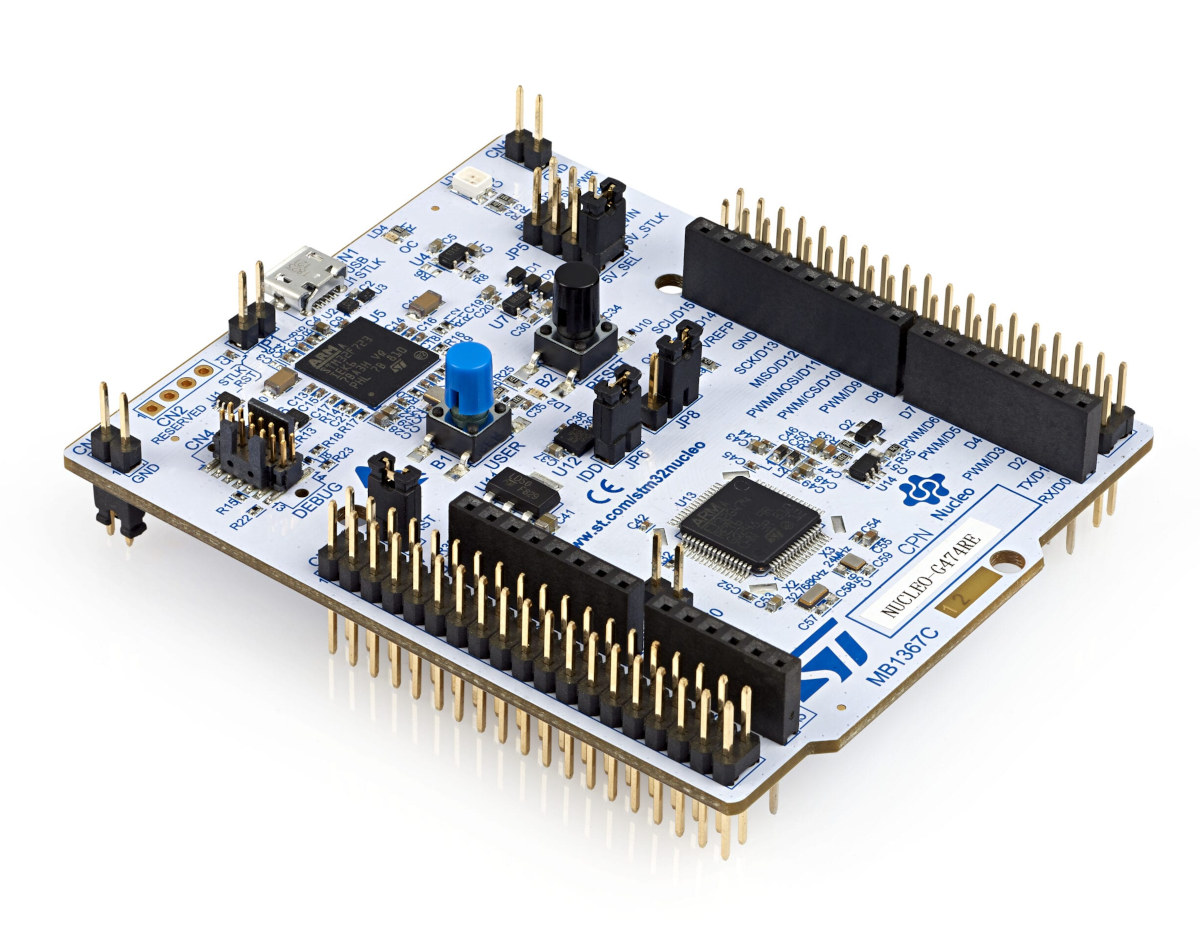 NUCLEO-G491RE board