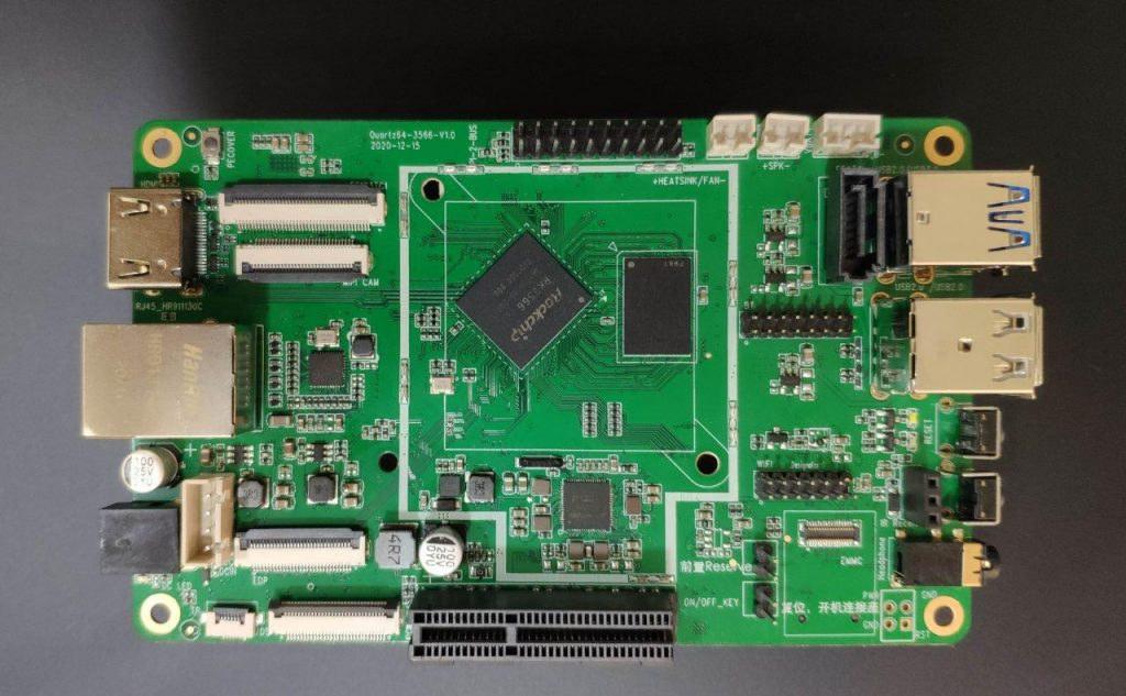 Quartz64 RK3566 SBC