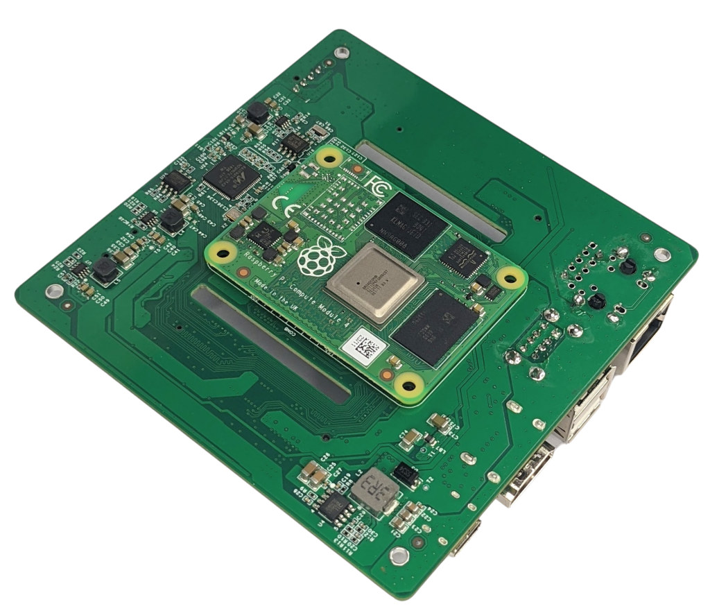 Raspberry Pi Compute Module 4 NAS Carrier board