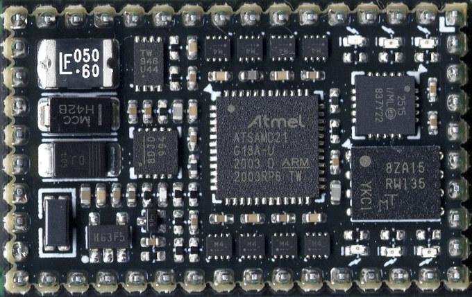 SAMD21 MCU module