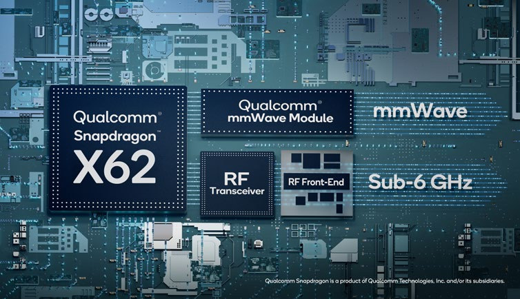 Snapdragon X62 mainstream 5G modem
