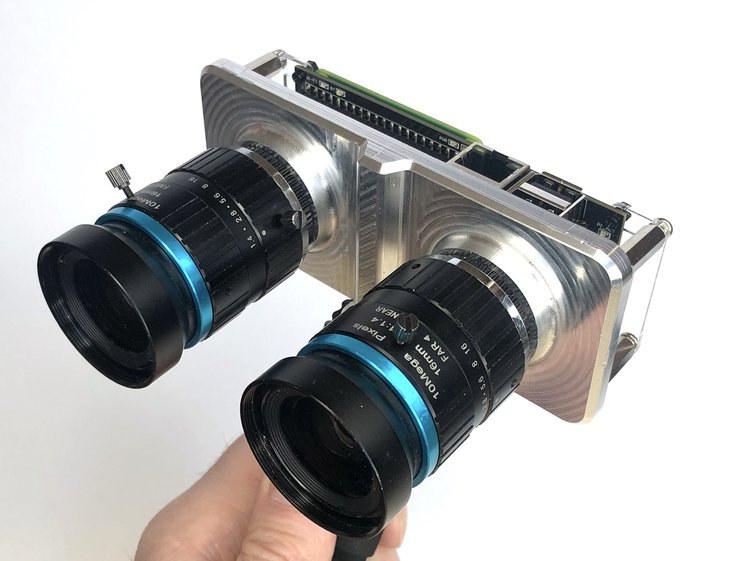 StereoPi v2 Raspberry Pi CM4 camera