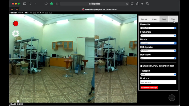 SLP web interface