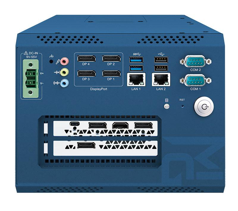 Vecow MIG-1000 AI Edge Computer dual-slot graphics card