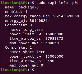 lower rapl power limits 15W
