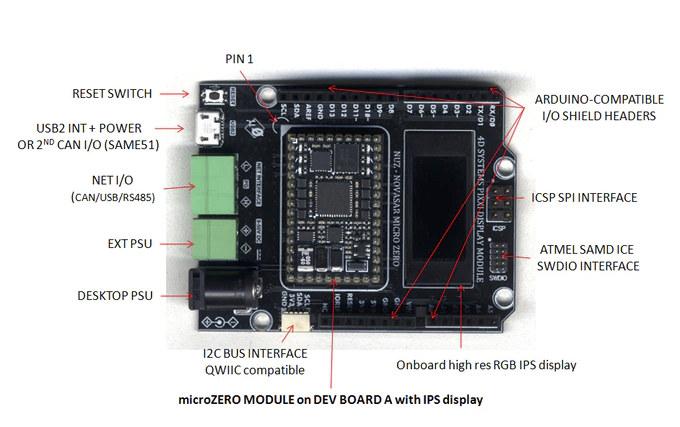 microZERO Dev Board A