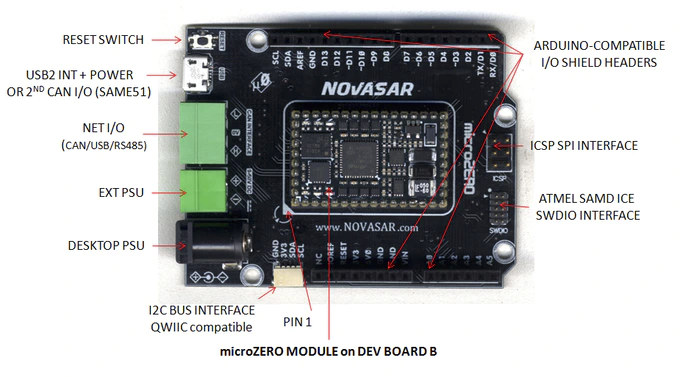 microZERO Dev Board B