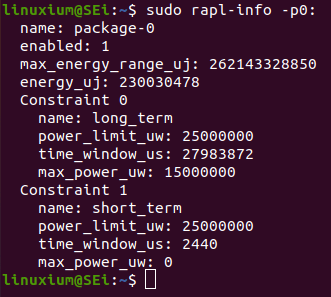 rapl power limits ubuntu