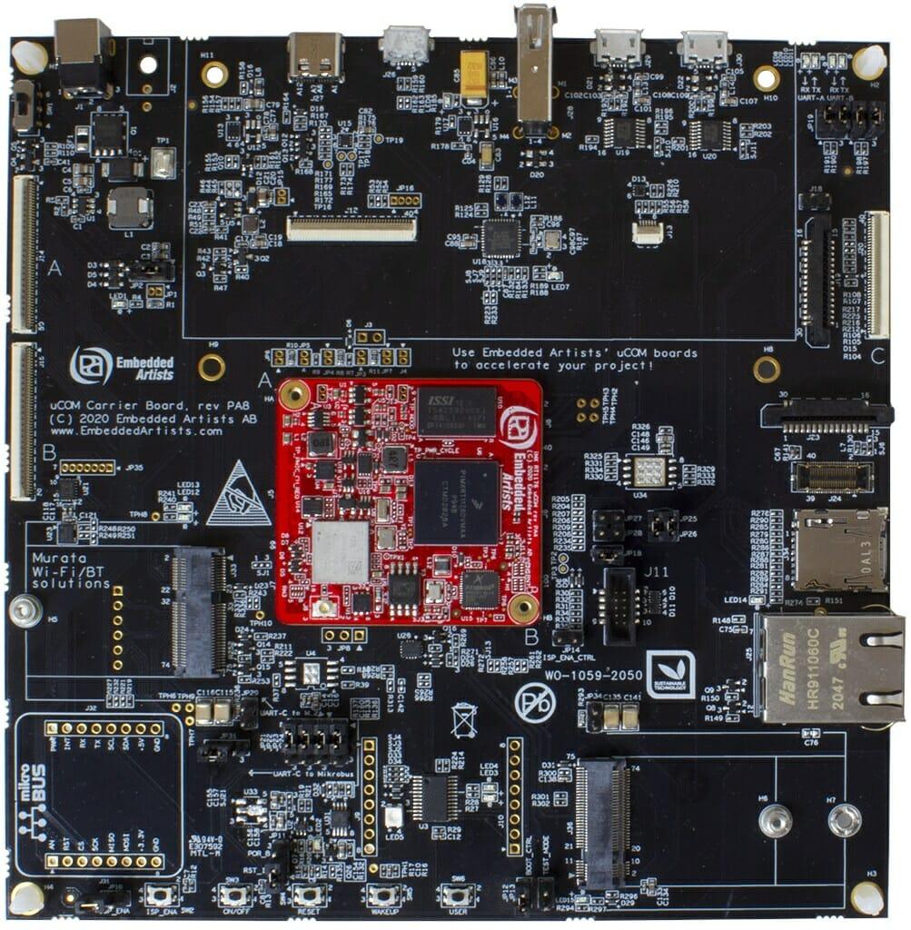 uCOM iMX RT1176 Developer Kit