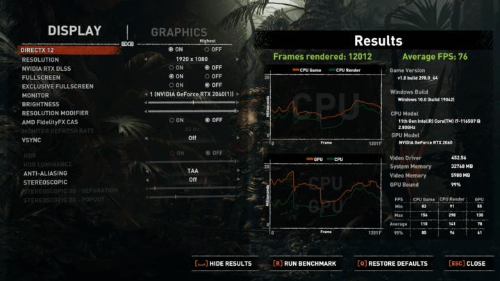 sottr highest graphics settings