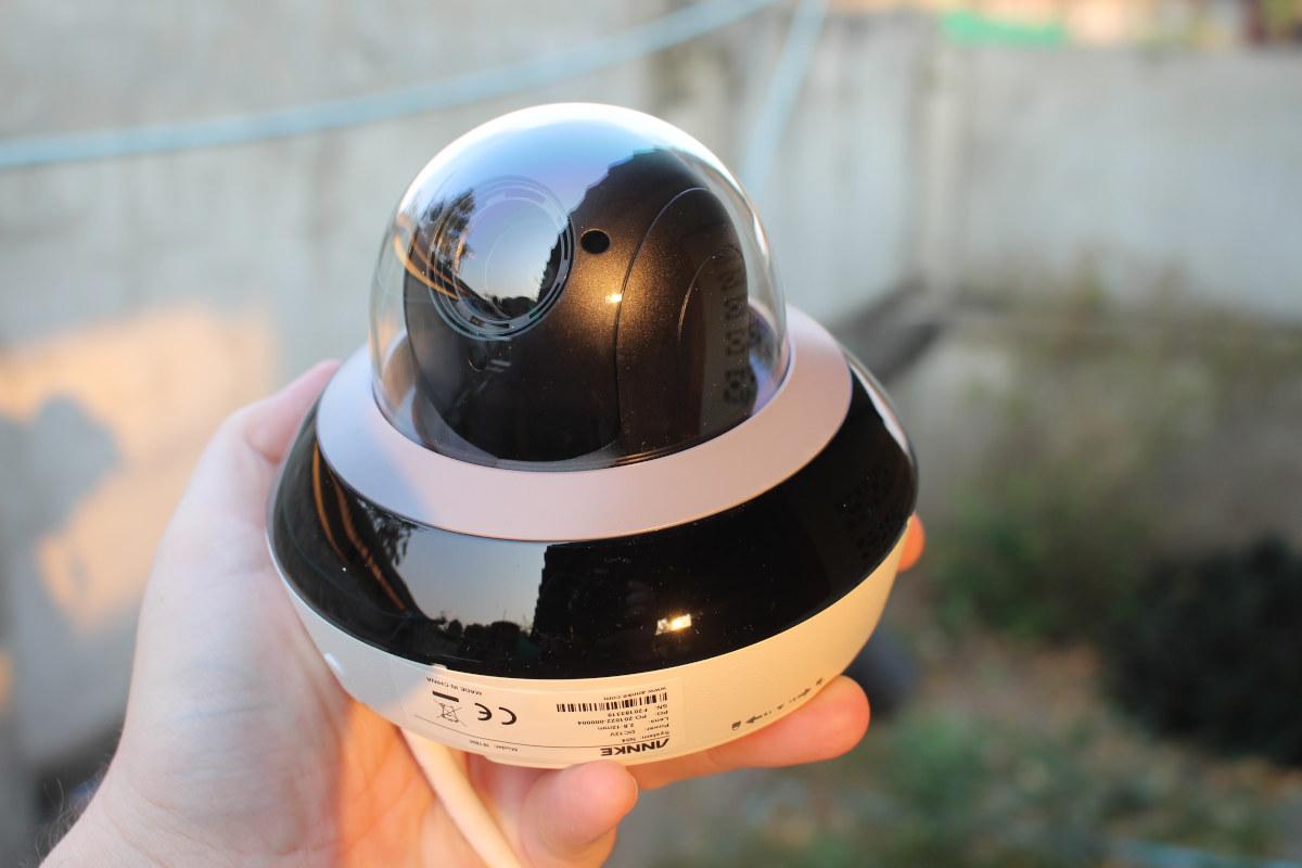 Annke CZ400 AI security camera review