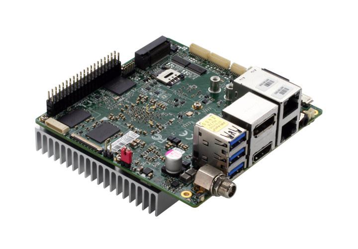 Apollo Lake SBC with Dual GbE, HDMI, DisplayPort, 3x USB 3.0
