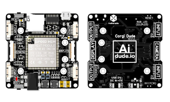 CorgiDude machine learning board