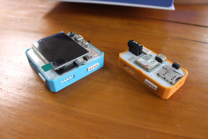 Crowbits ESP32 module & 2G module connectors