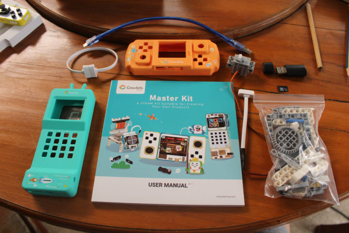 Crowbits Master Kit Phone-conolse case user manual