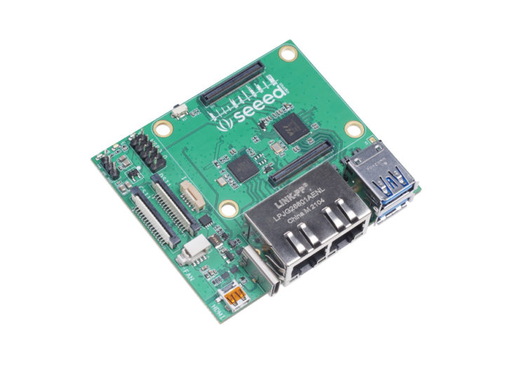 Dual Gigabit Ethernet Carrier Board Raspberry Pi Compute Module 4