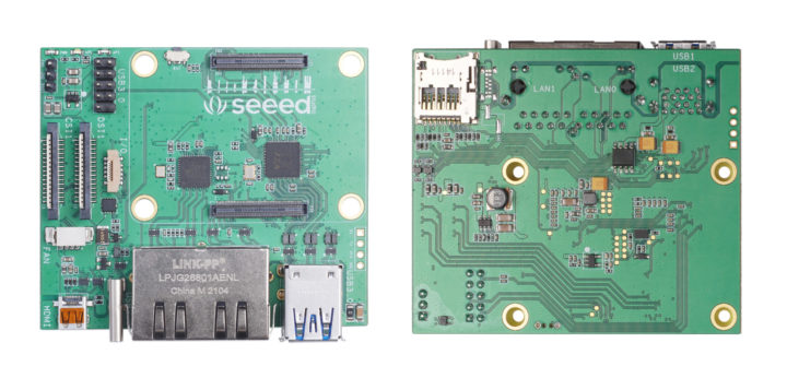Dual Gigabit Ethernet Raspberry Pi CM4 Carrier Board