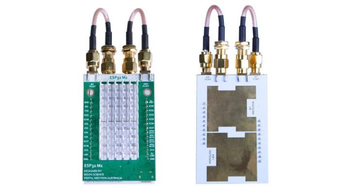 ESP32-A1 planar antenna