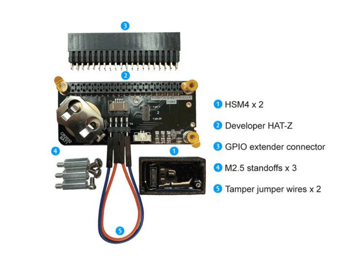 HSM4 devkit for Raspberry Pi, Jetson Nano