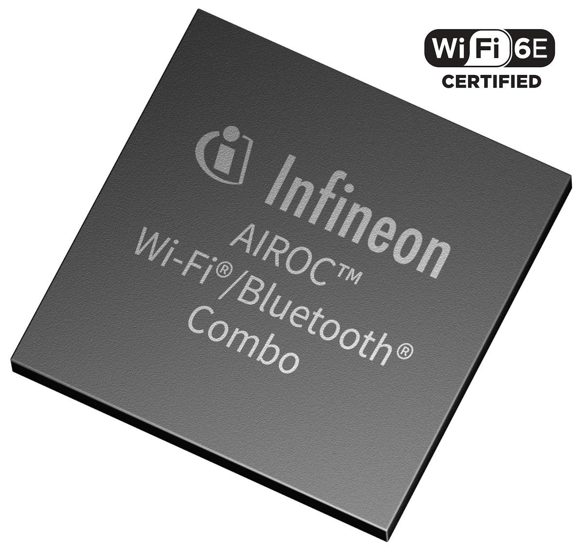 Infineon AIROC WiFi 6E Chipset