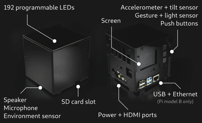 LumiCube specifications
