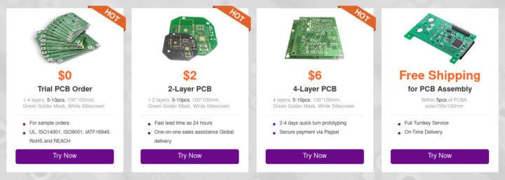NextPCB free PCB order