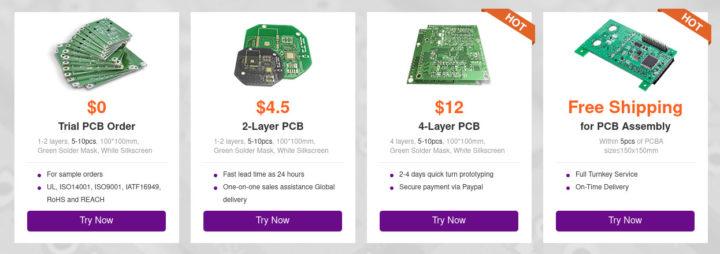NextPCB free PCB prototype