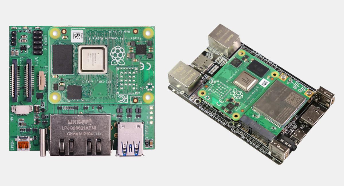 Raspberry Pi CM4 Dual Ethernet