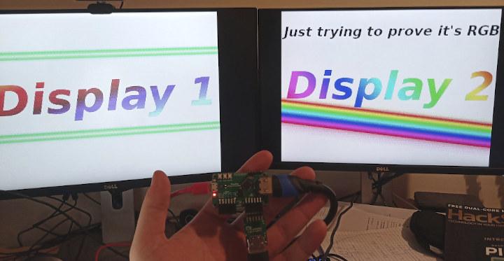 Raspberry Pi Pico RP2040 Dual Display