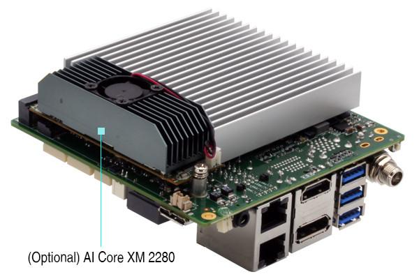 UP Squared Pro SBC with AI Core XM AI Accelerator