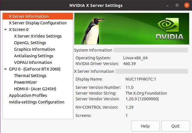 linux gpu info
