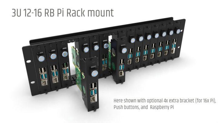 3U Rasbperry Pi Rack Mount
