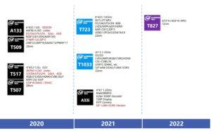 Allwinner 2021 2022 roadmap
