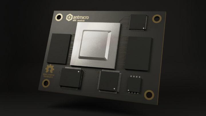 Antmicro AVRSOM RISC-V CPU Module