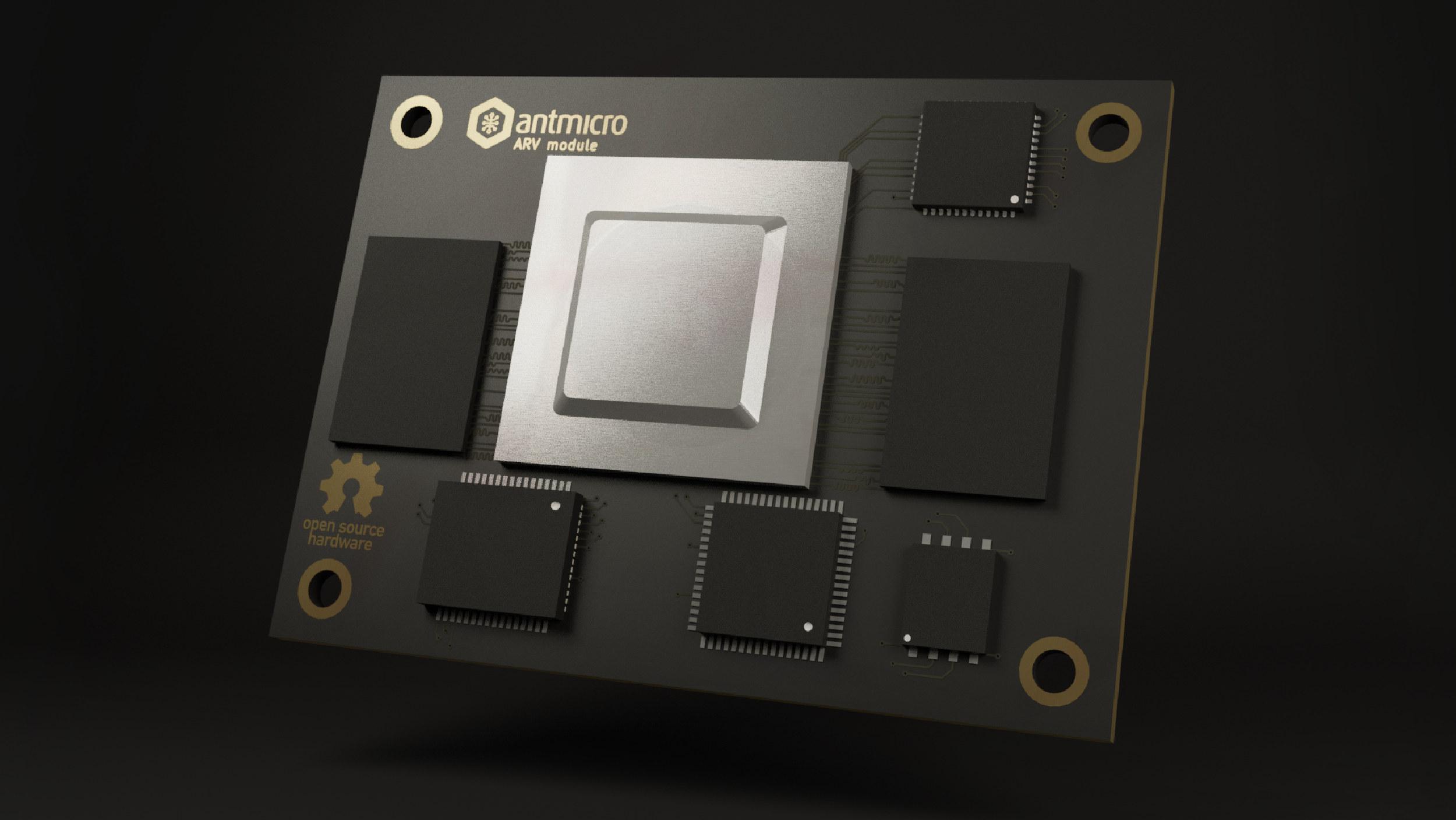 Antmicro AVRSOM-RISC-V CPU Module