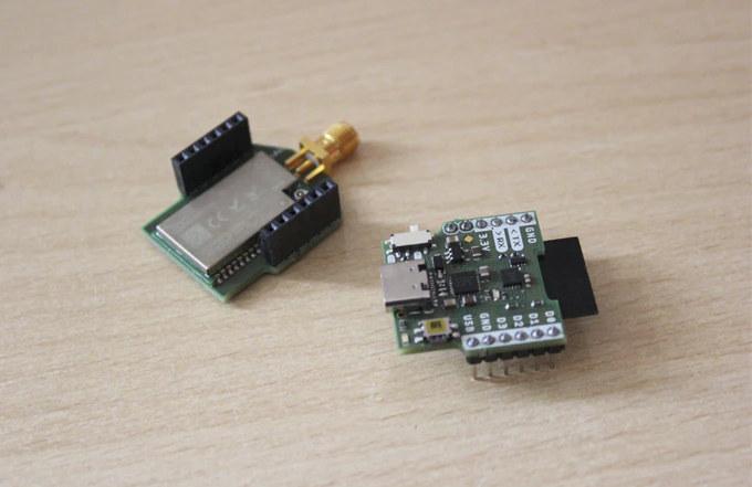 Axon WiFi & LoRa IoT module