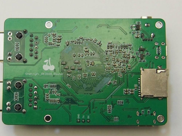 CherryPi RK3328 Dual GbE SBC Router