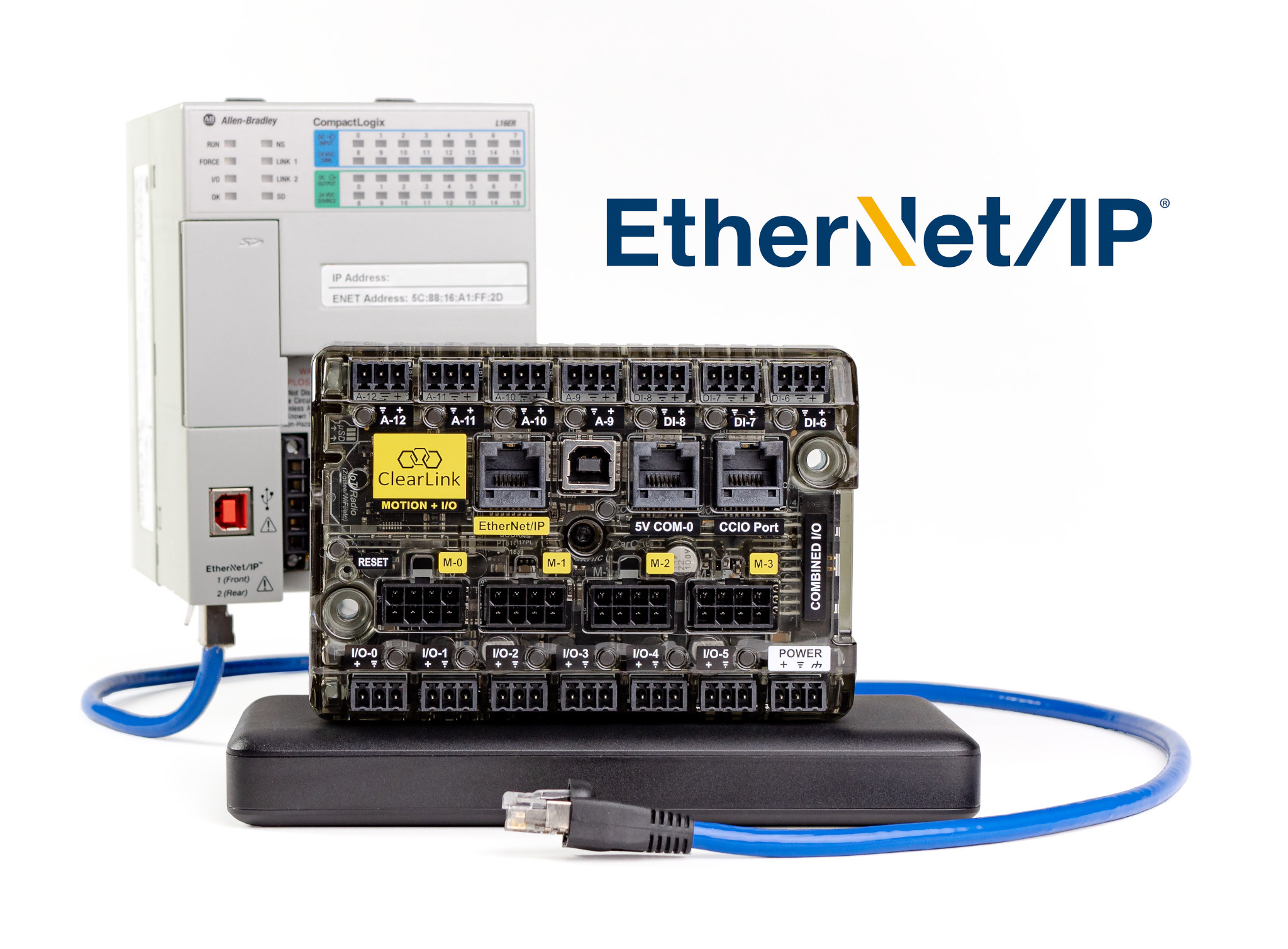 Clearlink EtherNet/IP Controller